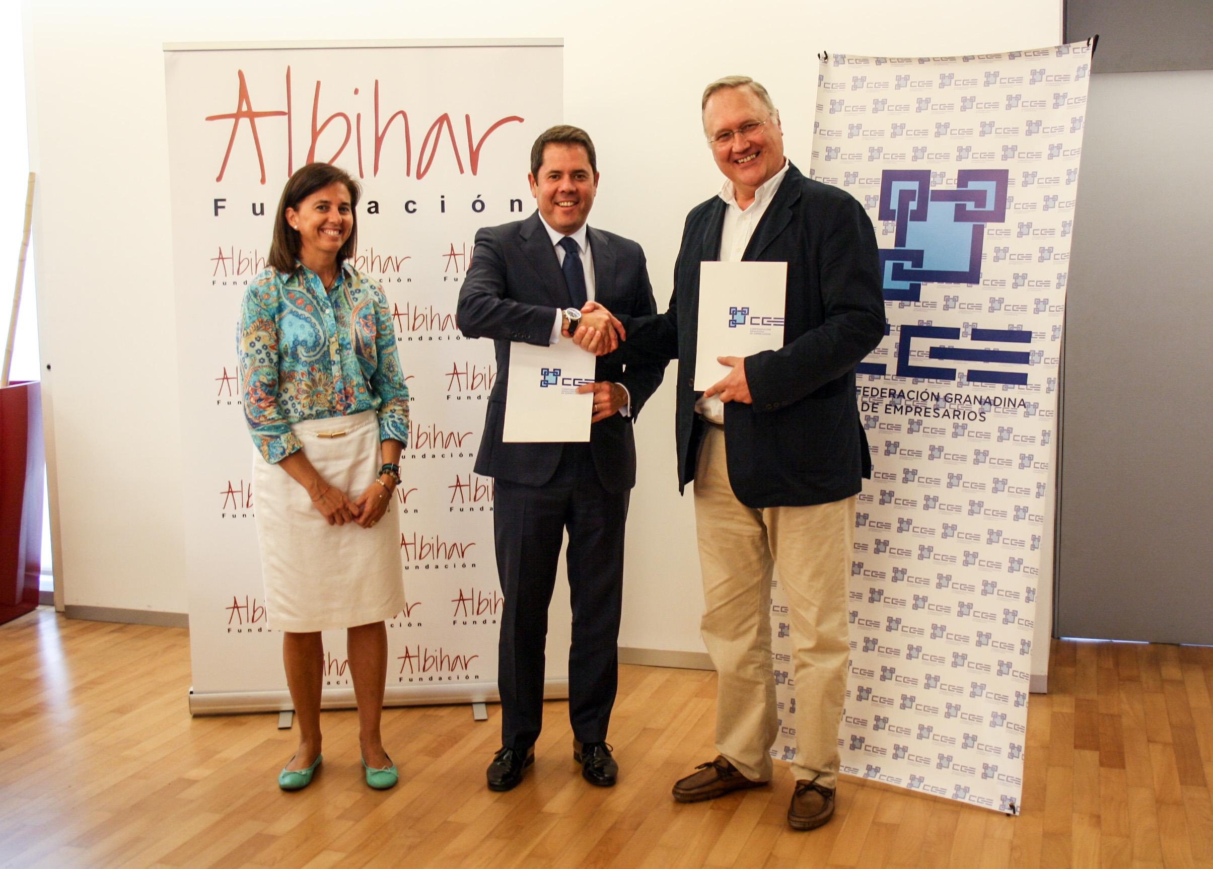 La CGE y la Fundación Albihar firman un convenio para el impulso de proyectos solidarios y de cooperación internacional