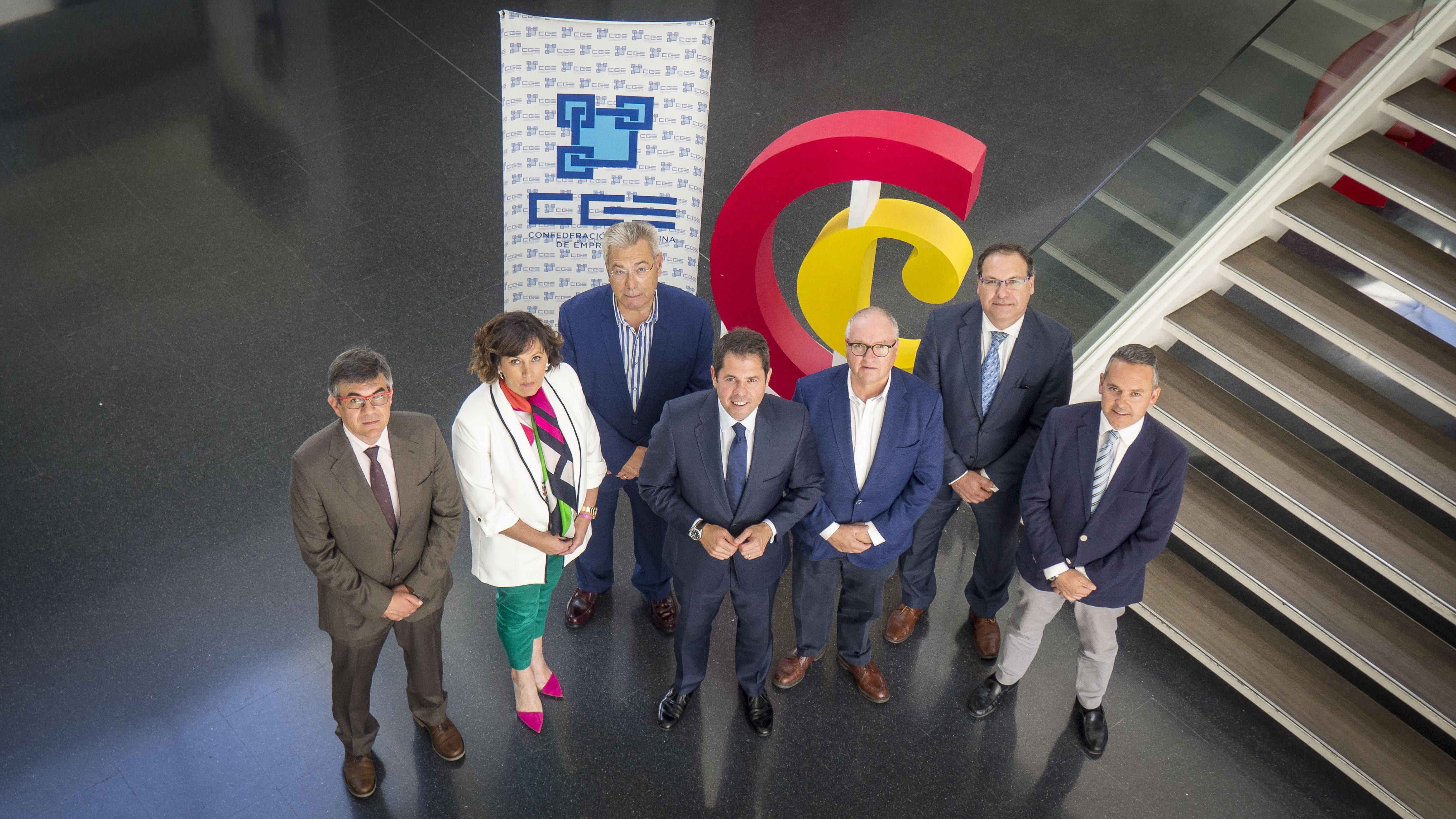 La CGE y la Cámara de Comercio unen fuerzas para mejorar sus servicios a las empresas y autónomos granadinos