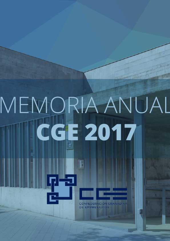 Memoria de actividades CGE 2017