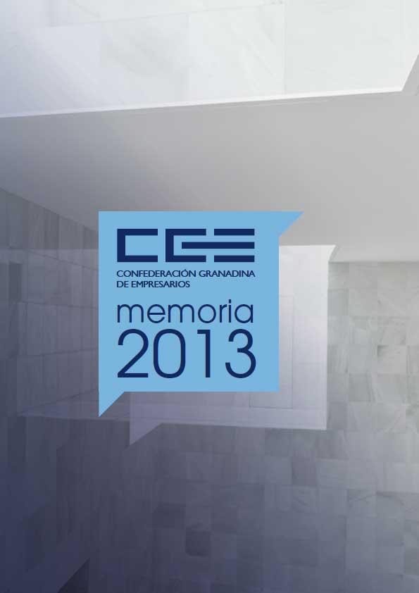 Memoria de Actividades CGE 2013