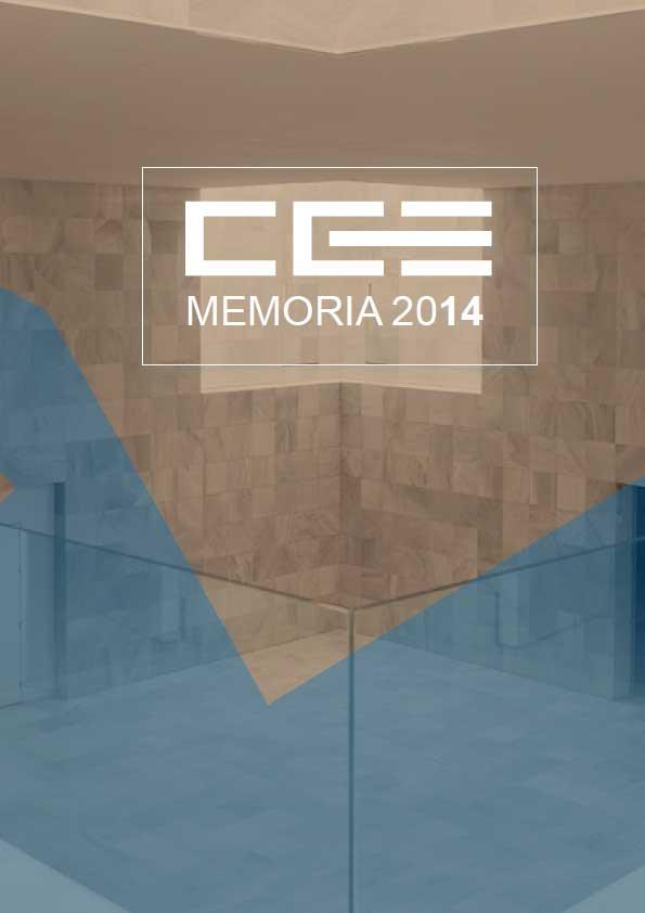 Memoria de Actividades CGE 2014