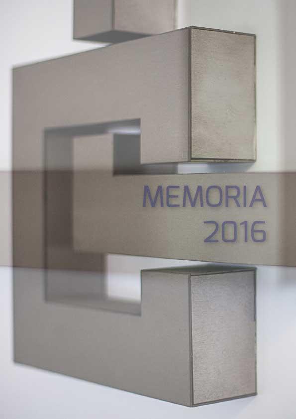 Memoria de actividades CGE 2016